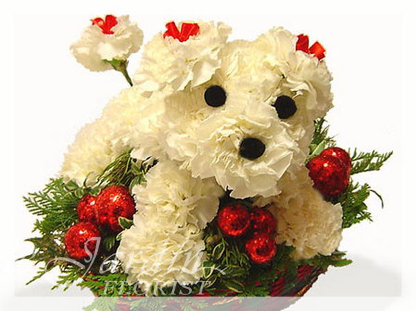 Terry the Terrier :: Animal Flower Arrangement. ""