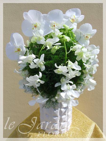 White flower arrangements juno beach flowers 561 627 8118 custom made upscale white green flower arrangements mightylinksfo